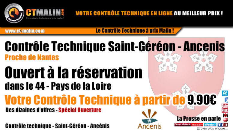Controle technique Ancenis proche de Nantes