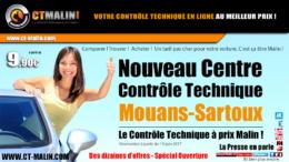 Contrôle technique à Muans-Sartoux